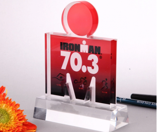 Custom shaped acrylic awards