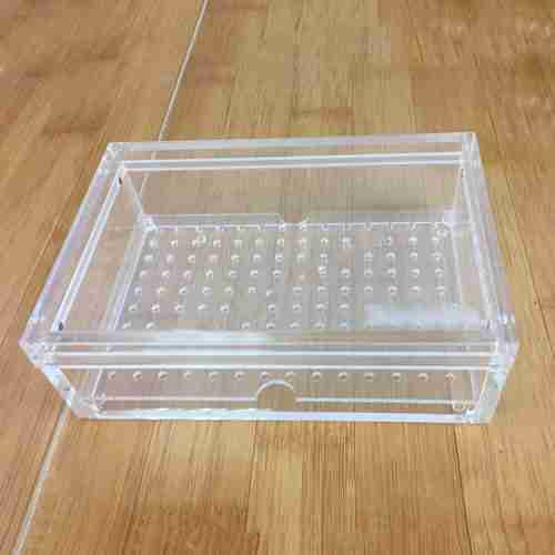 Clear Acrylic Cigar Box Humidor Waterproof