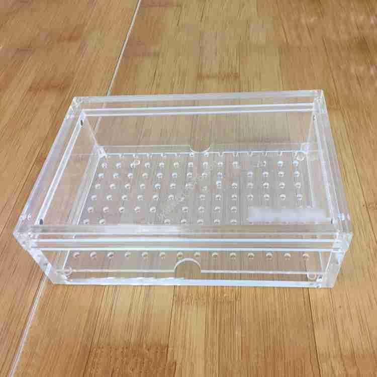 Clear Acrylic Cigar Box Humidor Waterproof