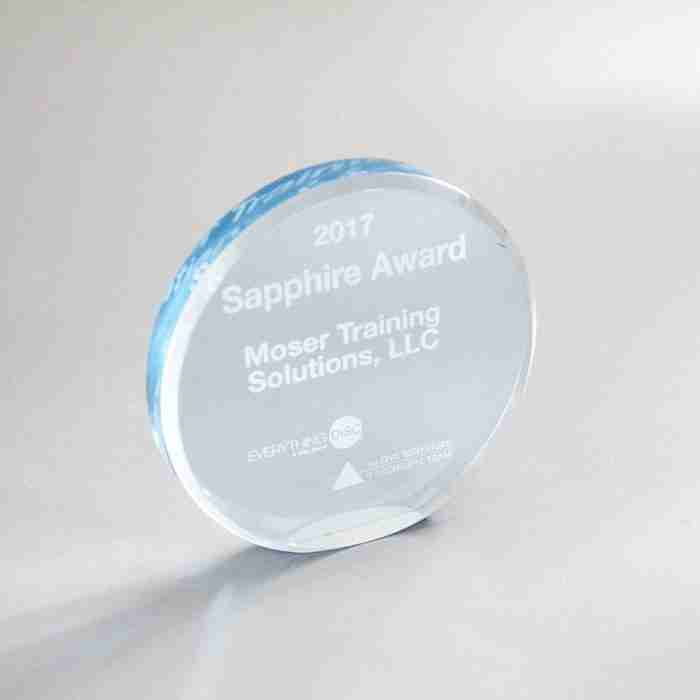 Round Shape Acrylic Award Blanks