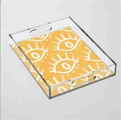 Custom Decorative Acrylic Tray