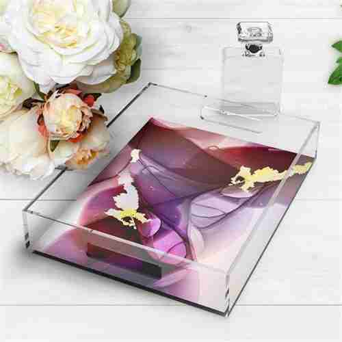 Multi Purpose Acrylic Tray For Home Zone Manufacturer