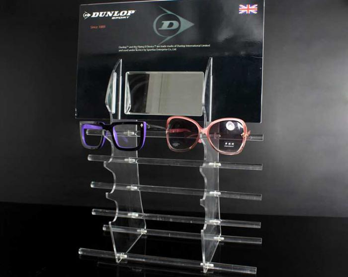 Wholesale plexiglass sunglasses display rack