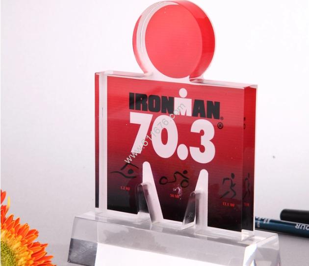 Custom shaped acrylic awards