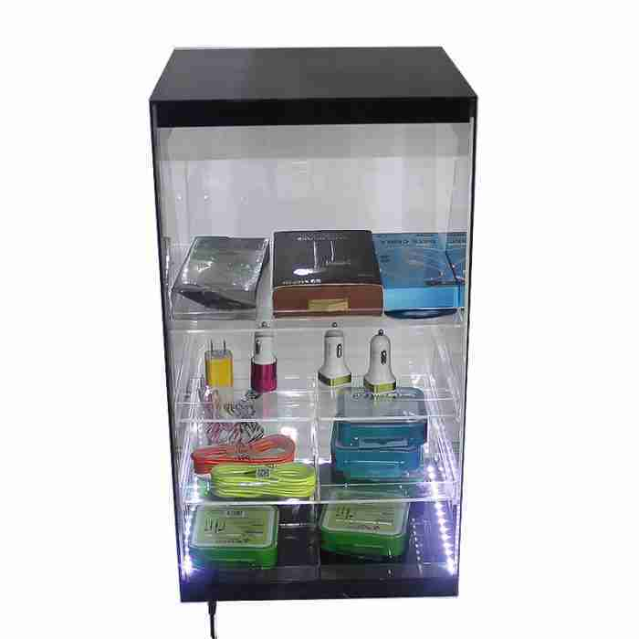 perspex counter top display
