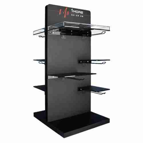 Countertop acrylic multifunctional display stand