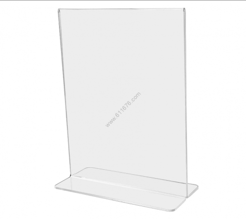 11×17 acrylic desktop tilt sign frame