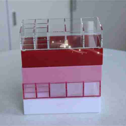 Compact Stand Acrylic Pressed Powder Holder