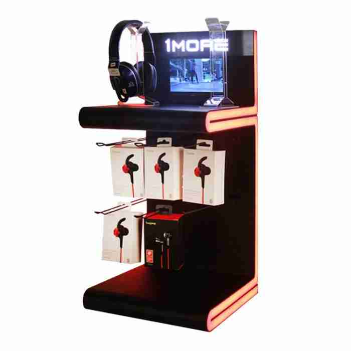 Fashion custom headphones display stand