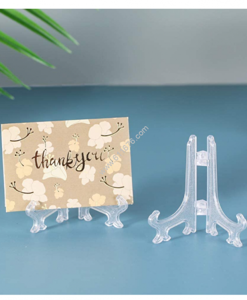 Acrylic card stand