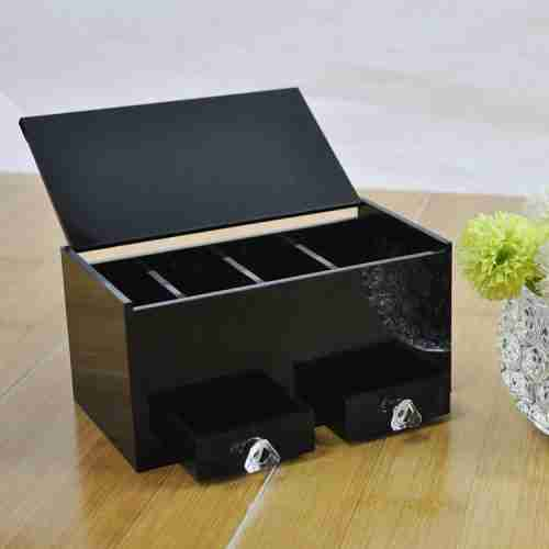 Black acrylic box
