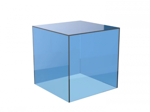 Custom colored acrylic boxes