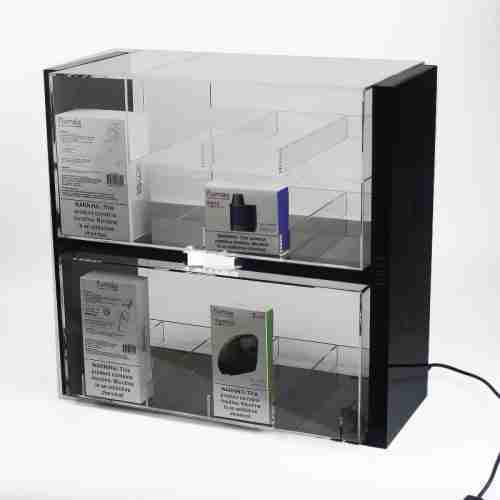 Customized Acrylic Display Case Cabinet For Cigarette