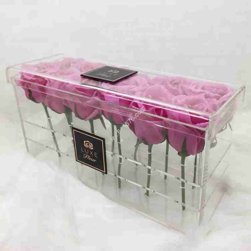 Plexiglass flower box wholesale