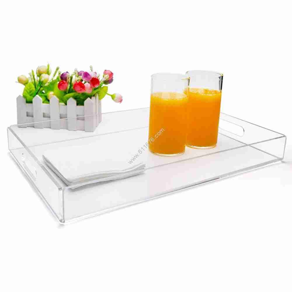 Clear acrylic tray wholesale