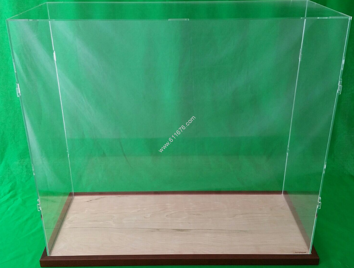30 inch acrylic display case custom