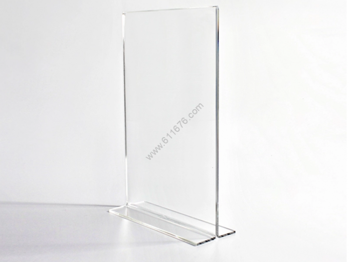 Large Clear Acrylic Sign Holder 11x17