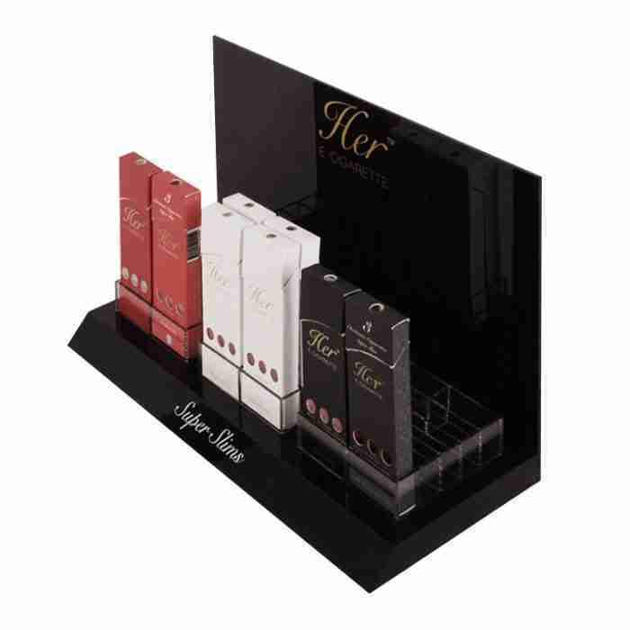 Acrylic electronic cigarette display stand