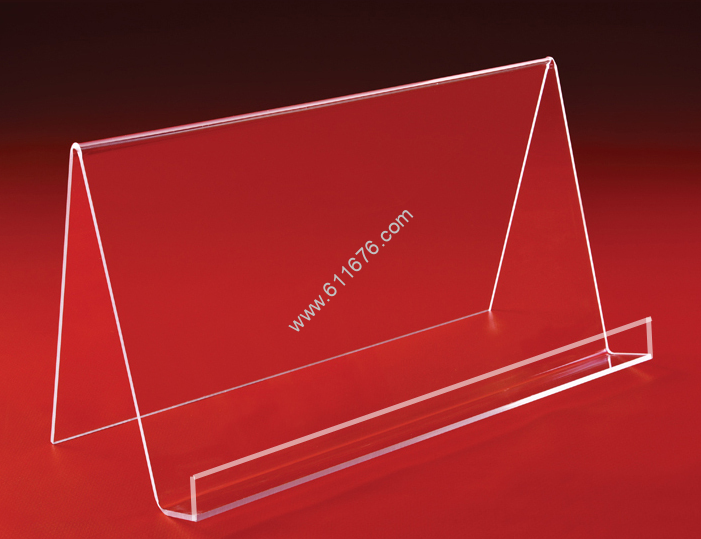 Acrylic Wide Book Easel with Ledge