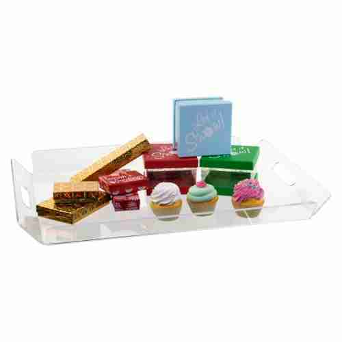 Acrylic Serving Tray Clear Acrylic Serving Tray