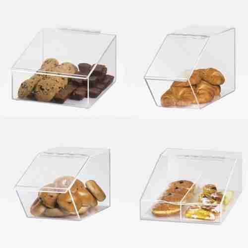 Clear Plastic Acrylic Candy Box For Store