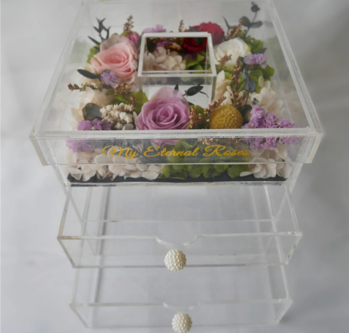 Extra large perspex box