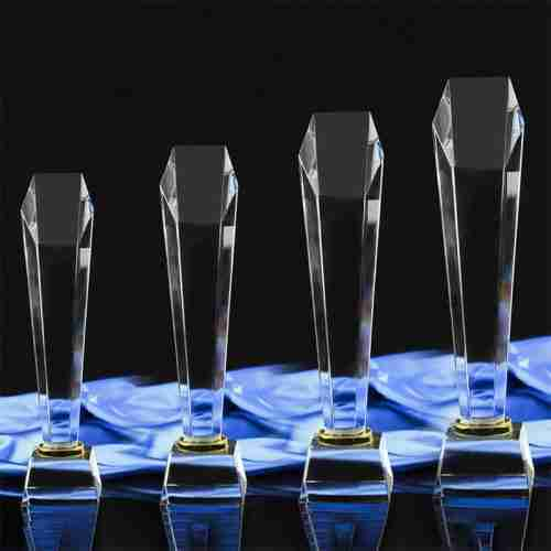 Custom cut acrylic awards