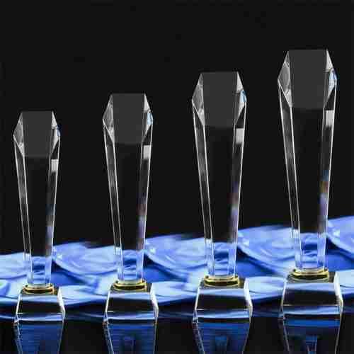 Custom cut acrylic awards