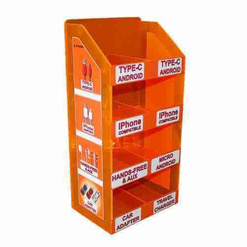 Counter 4 Tires Fluorescent Orange Mobile Phone Accessories