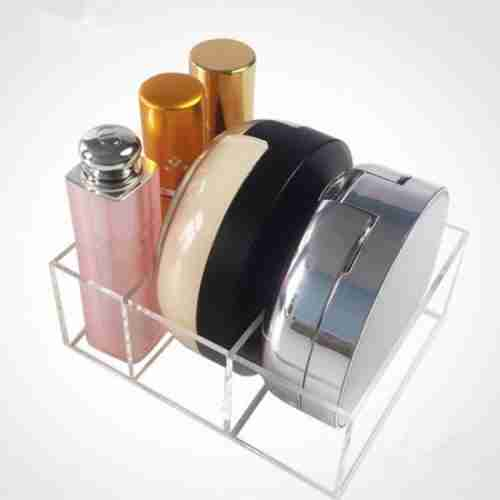 Acrylic Compact Holder With Big Slots