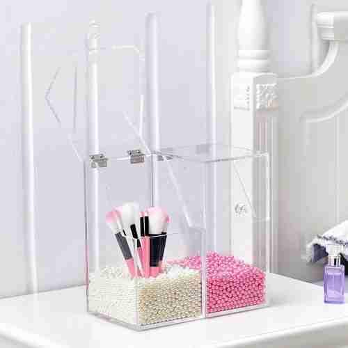 Acrylic Makeup Brush Holder Wholesale Factory