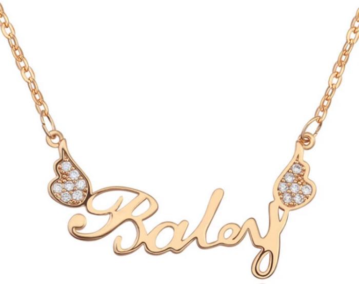 Custom acrylic necklace