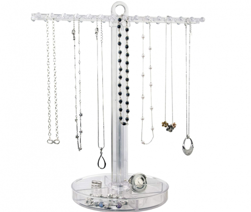 Acrylic necklace holder
