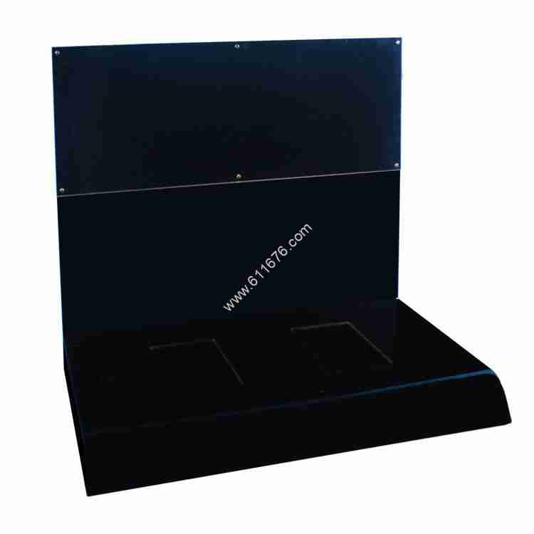 Combination countertop acrylic display stand