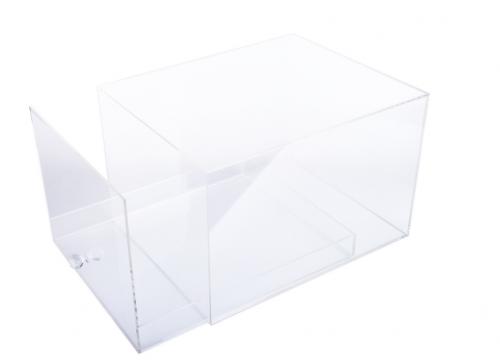 Acrylic Sneaker Display Box Shoe Storage