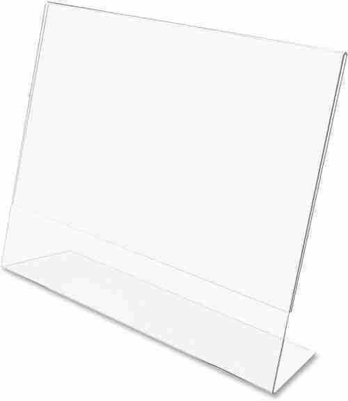 5x7 Acrylic Brochure Stand
