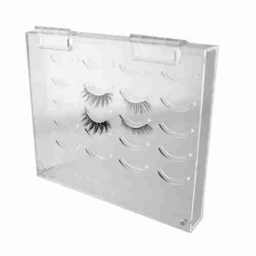 Acrylic Eyelash Storage Box 10 Pairs