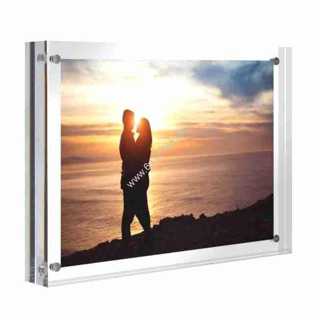 5 x 7 Clear Acrylic Frames Magnet Photo Frames