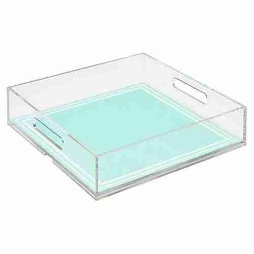 Wholesale Custom Art Paper Insert Tray Transparent Insert Se