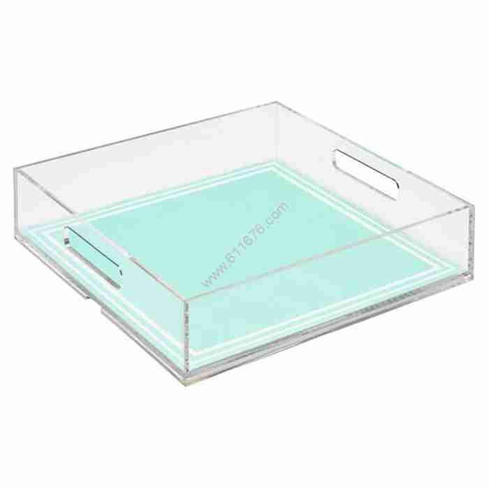 Wholesale Custom Art Paper Insert Tray Transparent Insert Se