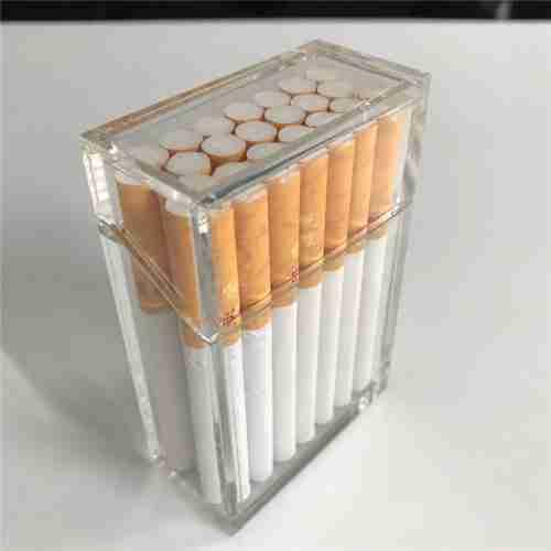 Custom Size Clear Acrylic Cigar Box