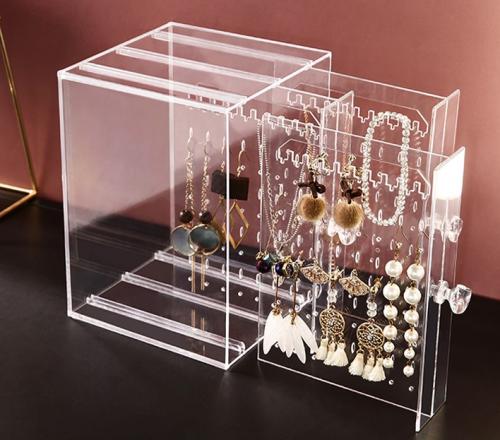 Acrylic Earring Storage Box