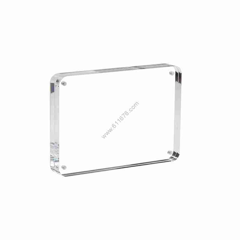Square Magnetic Acrylic Photo Frame For Wedding