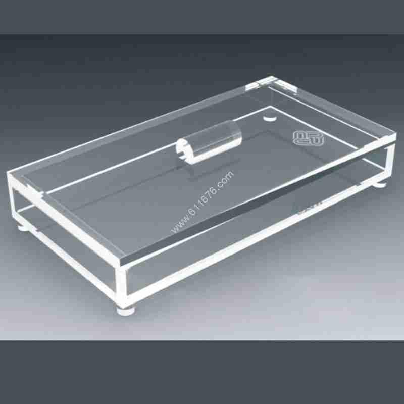 blank acrylic trays
