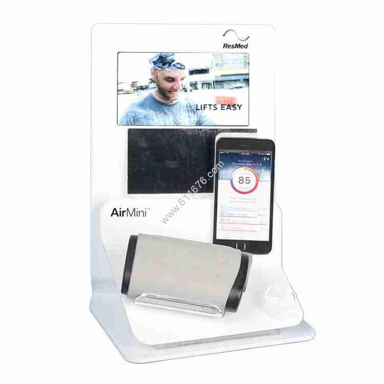 Acrylic audio display stand