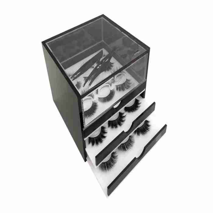 Cheap Acrylic Eyelash Display Case