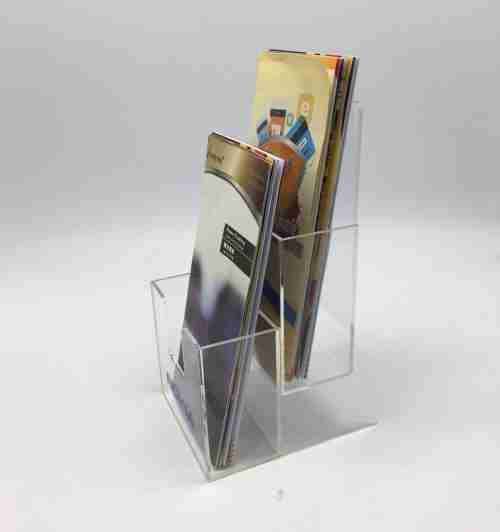 Custom acrylic brochure holders