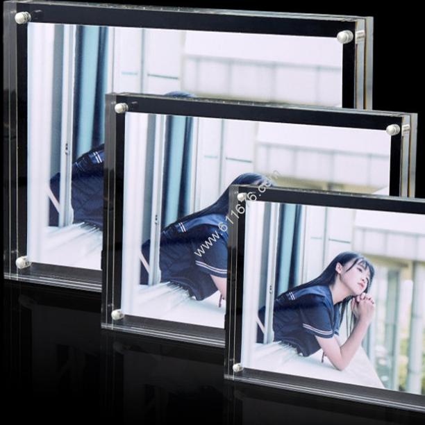 Custom acrylic picture frames