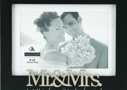Transparent Acrylic Magnet Wedding Photo Frame