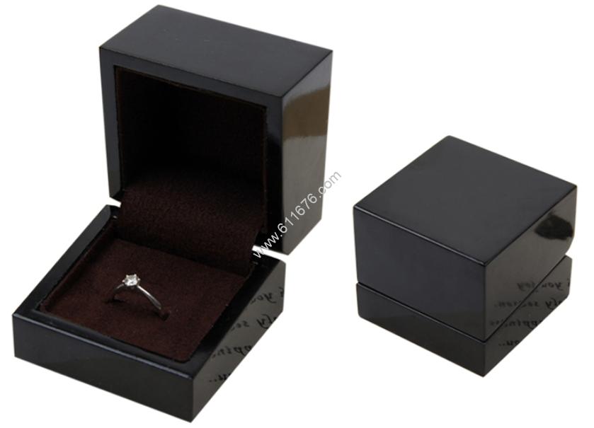 Black acrylic jewellery boxes